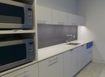 Refresh area with microwave